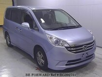 Used 2009 HONDA STEP WGN BG392751 for Sale for Sale