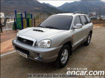 Used 2002 HYUNDAI SANTA FE BG396924 for Sale for Sale