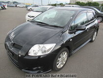 Used 2007 TOYOTA AURIS BG403402 for Sale for Sale