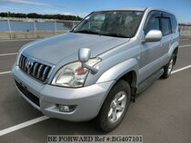 Used 2009 TOYOTA LAND CRUISER PRADO BG407101 for Sale for Sale