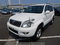 Used 2006 TOYOTA LAND CRUISER PRADO BG421141 for Sale for Sale
