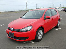Used 2010 VOLKSWAGEN GOLF BG440233 for Sale for Sale