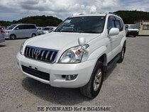 Used 2004 TOYOTA LAND CRUISER PRADO BG458480 for Sale for Sale
