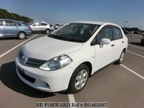 Used 2008 NISSAN TIIDA LATIO BG463887 for Sale for Sale