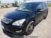Used 2005 TOYOTA HARRIER BG463705 for Sale for Sale