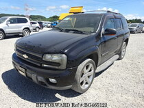 Used 2002 CHEVROLET TRAILBLAZER BG465123 for Sale for Sale