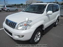 Used 2003 TOYOTA LAND CRUISER PRADO BG471934 for Sale for Sale