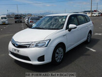 Used 2014 TOYOTA COROLLA FIELDER BG472967 for Sale for Sale