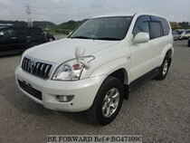 Used 2003 TOYOTA LAND CRUISER PRADO BG473990 for Sale for Sale