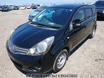 Used 2008 NISSAN NOTE BG473631 for Sale for Sale