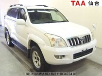 Used 2003 TOYOTA LAND CRUISER PRADO BG475418 for Sale for Sale