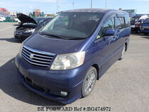 Used 2004 TOYOTA ALPHARD BG474972 for Sale for Sale