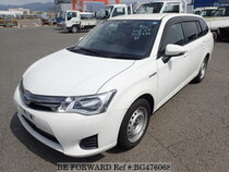 Used 2014 TOYOTA COROLLA FIELDER BG476068 for Sale for Sale