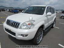 Used 2002 TOYOTA LAND CRUISER PRADO BG478072 for Sale for Sale