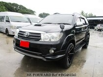 Used 2007 TOYOTA FORTUNER BG481541 for Sale for Sale