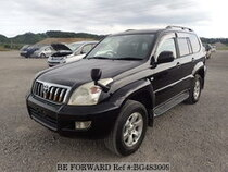 Used 2005 TOYOTA LAND CRUISER PRADO BG483009 for Sale for Sale
