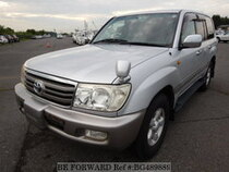 Used 2007 TOYOTA LAND CRUISER BG489889 for Sale for Sale
