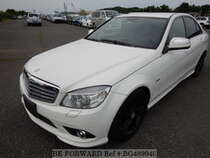 Used 2008 MERCEDES-BENZ C-CLASS BG489940 for Sale for Sale