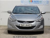 Used 2012 HYUNDAI AVANTE (ELANTRA) BG493647 for Sale for Sale