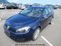Used 2010 VOLKSWAGEN GOLF VARIANT BG494022 for Sale for Sale