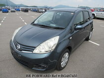 Used 2010 NISSAN NOTE BG487455 for Sale for Sale