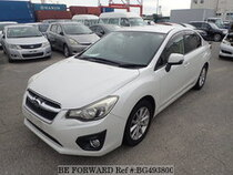 Used 2012 SUBARU IMPREZA G4 BG493800 for Sale for Sale