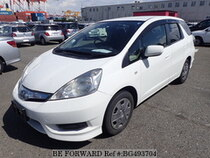 Used 2012 HONDA FIT SHUTTLE HYBRID BG493704 for Sale for Sale