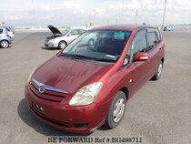 Used 2004 TOYOTA COROLLA SPACIO BG498711 for Sale for Sale
