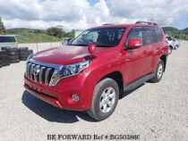 Used 2016 TOYOTA LAND CRUISER PRADO BG503860 for Sale for Sale