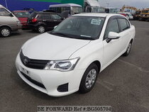 Used 2015 TOYOTA COROLLA AXIO BG505704 for Sale for Sale