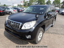 Used 2010 TOYOTA LAND CRUISER PRADO BG507680 for Sale for Sale