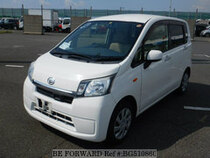 Used 2014 DAIHATSU MOVE BG510860 for Sale for Sale