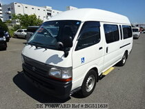 Used 2004 TOYOTA HIACE COMMUTER BG511638 for Sale for Sale