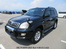 Used 2007 TOYOTA LAND CRUISER PRADO BG511422 for Sale for Sale