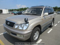 Used 1999 TOYOTA LAND CRUISER BG511442 for Sale for Sale