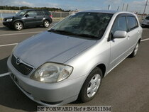 Used 2002 TOYOTA COROLLA RUNX BG511504 for Sale for Sale