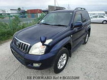 Used 2009 TOYOTA LAND CRUISER PRADO BG515286 for Sale for Sale
