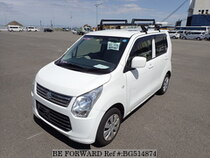 Used 2014 SUZUKI WAGON R BG514874 for Sale for Sale
