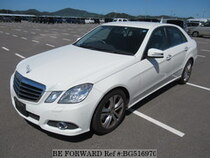 Used 2009 MERCEDES-BENZ E-CLASS BG516970 for Sale for Sale