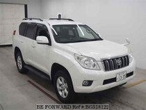 Used 2011 TOYOTA LAND CRUISER PRADO BG518122 for Sale for Sale