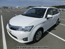 Used 2014 TOYOTA COROLLA FIELDER BG518803 for Sale for Sale