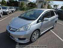 Used 2013 HONDA FIT SHUTTLE BG518790 for Sale for Sale