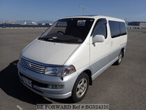 Used 1999 TOYOTA REGIUS WAGON BG524310 for Sale for Sale