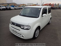 Used 2010 NISSAN CUBE BG533564 for Sale for Sale
