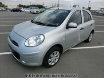 Used 2011 NISSAN MARCH BG533586 for Sale for Sale
