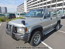 Used 1997 ISUZU BIGHORN BG412232 for Sale for Sale
