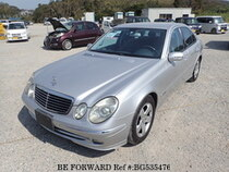 Used 2004 MERCEDES-BENZ E-CLASS BG535476 for Sale for Sale