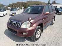 Used 2005 TOYOTA LAND CRUISER PRADO BG535533 for Sale for Sale