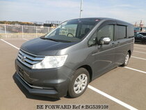 Used 2012 HONDA STEP WGN BG539108 for Sale for Sale