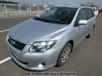 Used 2011 TOYOTA COROLLA FIELDER BG540795 for Sale for Sale